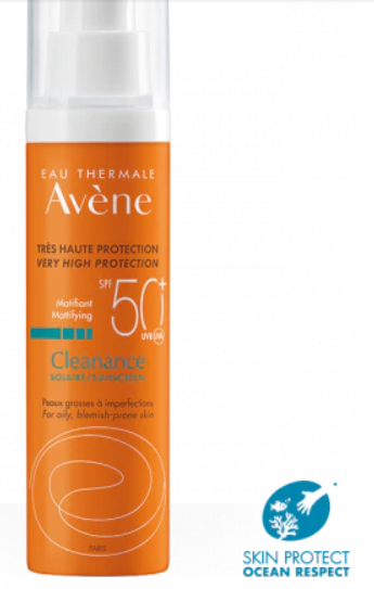 Avene Cleanance Sunscreen SPF50