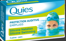 Load image into Gallery viewer, Quies Silicone Swimming Earplugs