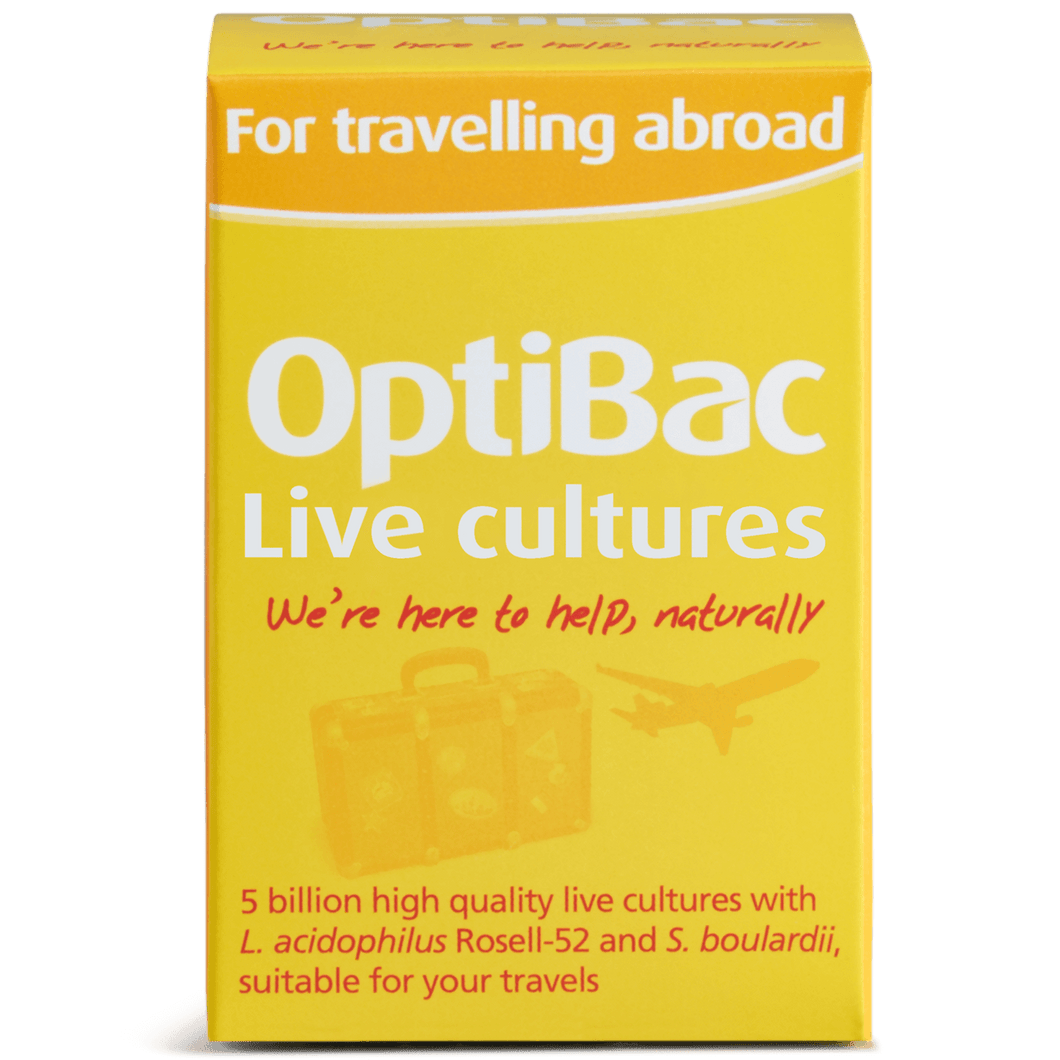 Optibac For Travelling Abroad