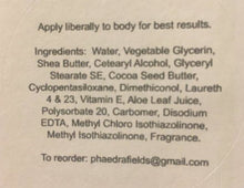 Load image into Gallery viewer, Phaedra's Philtres You Choose the Scent Body Lotion 8oz.