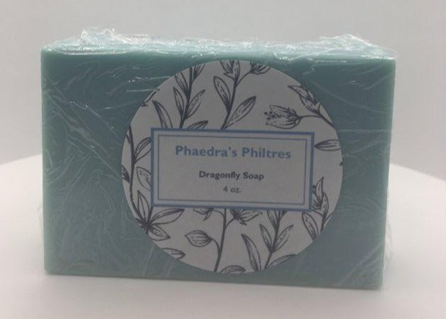 Phaedra's Philtres Dragonfly Scented Bar Soap 4oz.