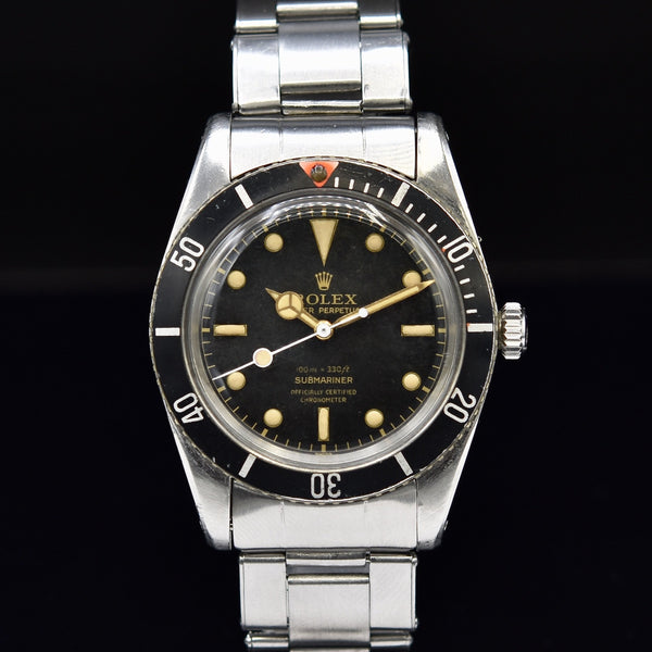 Rolex Submariner JAMES BOND 6536/1 1957
