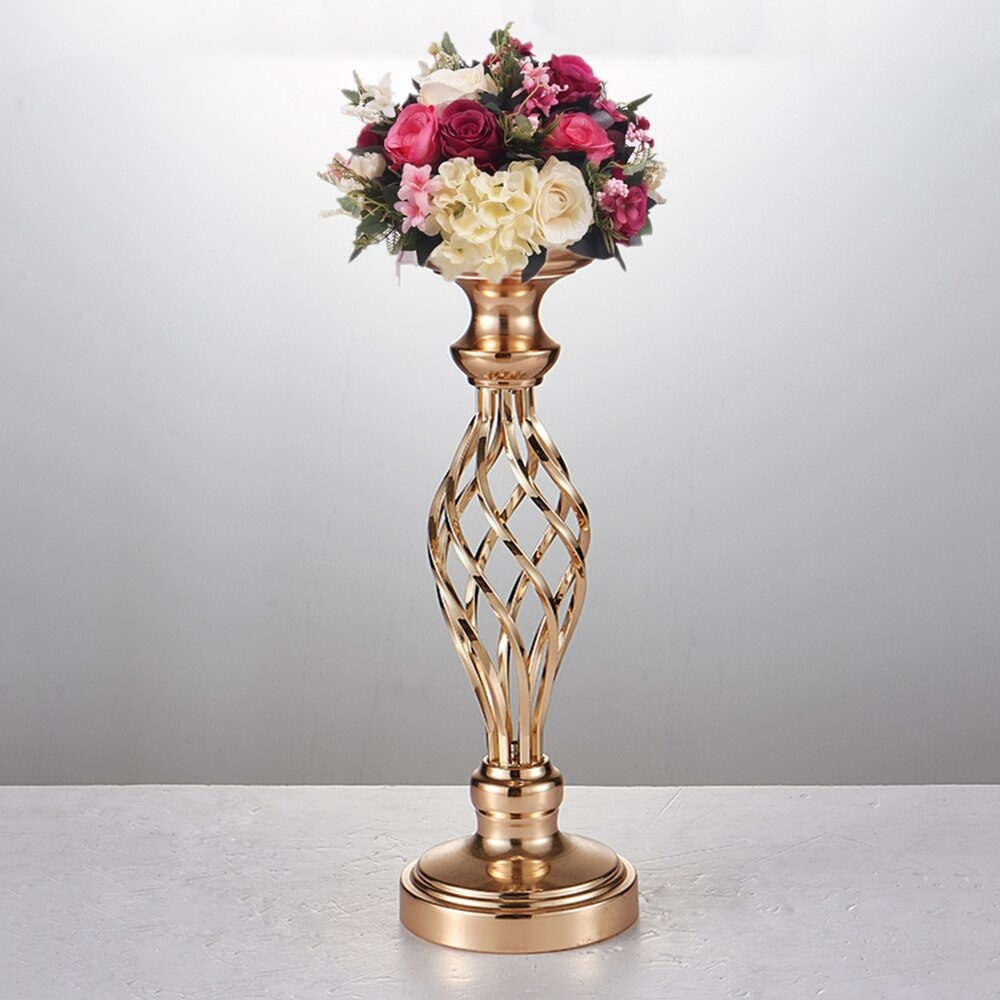 Gold Flower Vase - Urban Factorie