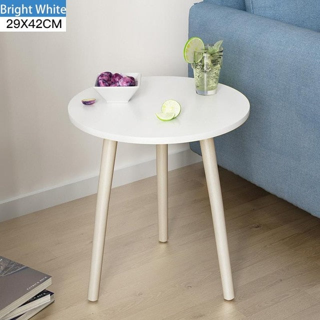 Creative Nordic Low Round Coffee Table - Urban Factorie