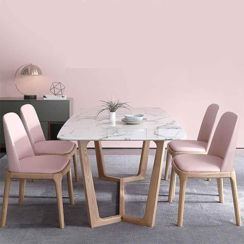 Nordic Minimalist Dining Table
