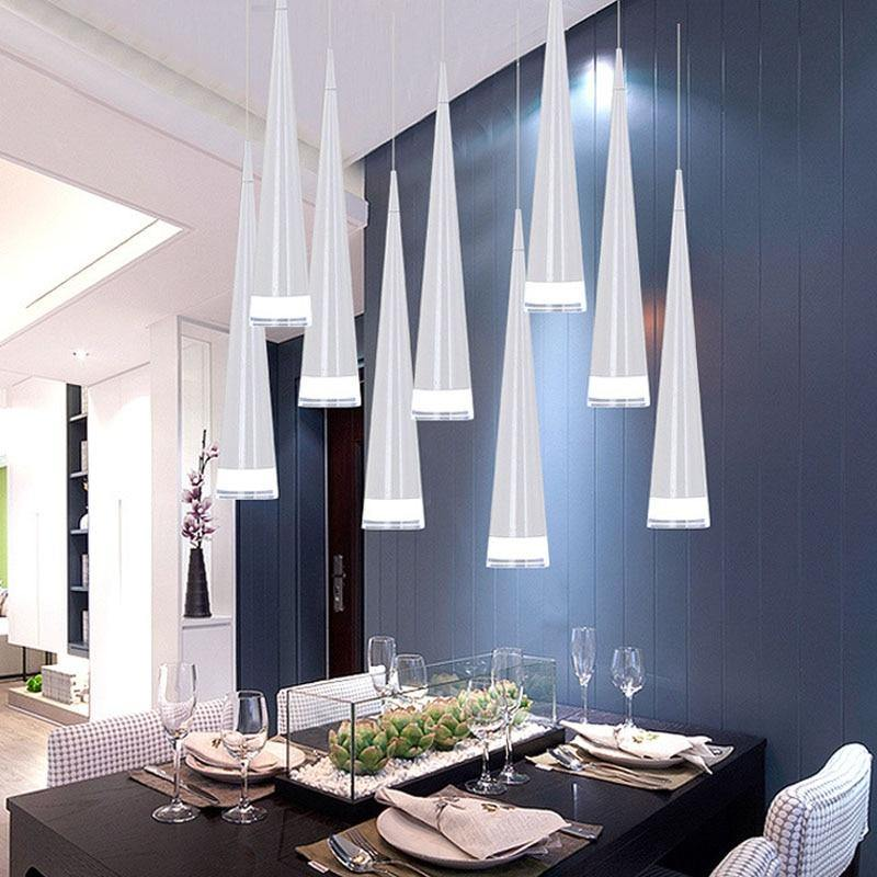 5W Modern LED Conical Pendant Lamps - Urban Factorie