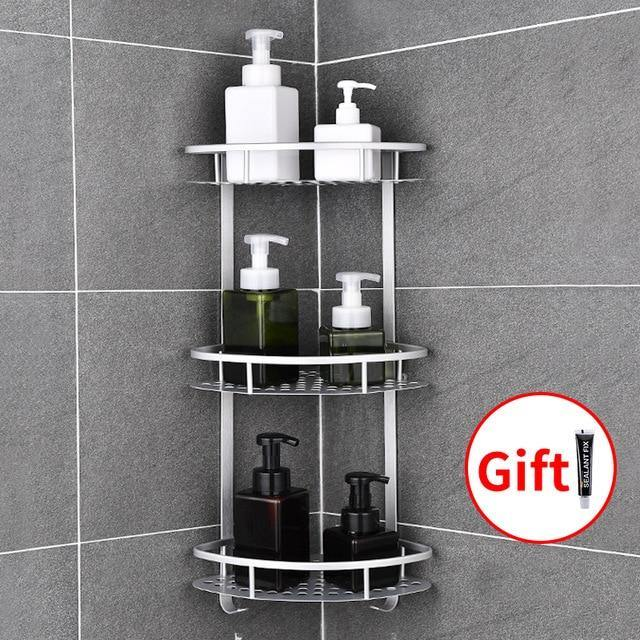 Space Aluminum Bathroom Shel - Urban Factorie
