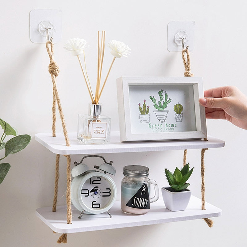 Simple Decorative Wall Shelf - Urban Factorie