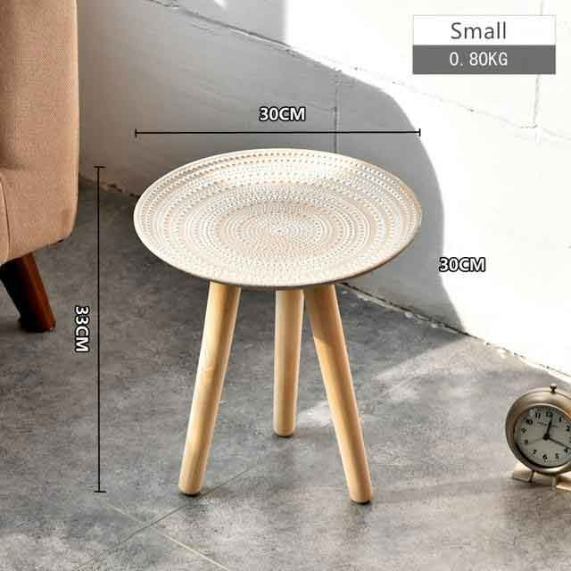 Creative Round Nordic Wood Coffee Table - Urban Factorie