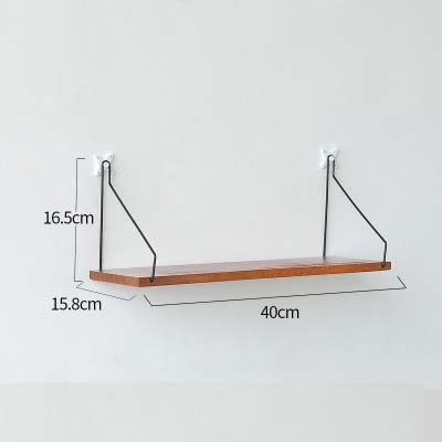 Iron Wooden Decorative Wall Shelf - Urban Factorie