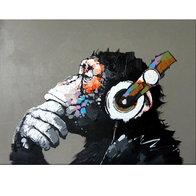Abstract Monkey DIY Painting - Urban Factorie