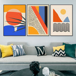 Geometric Abstract Painting - Urban Factorie