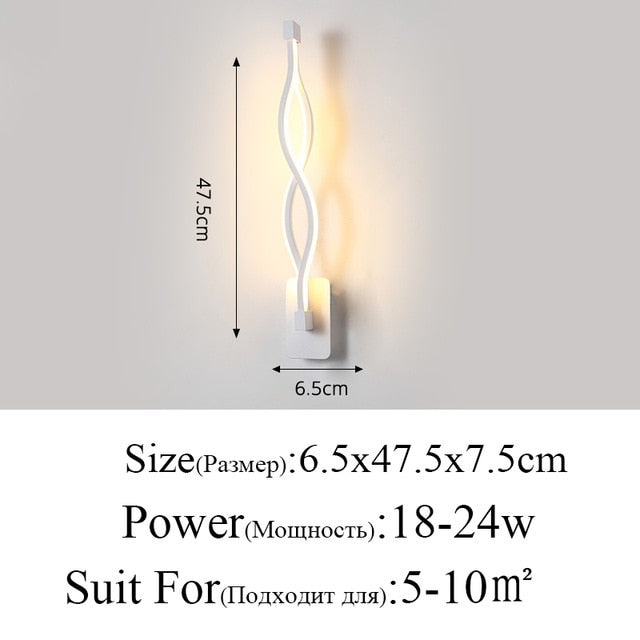 Modern Minimalist Wall Lamp - Urban Factorie