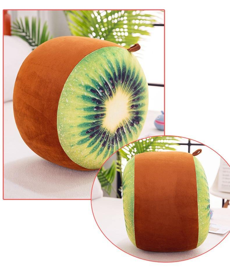 3D Fruit Pattern Inflatable Foot Stool - Urban Factorie