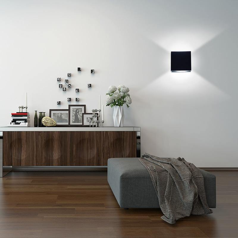 6W  Square LED Wall Lamp - Urban Factorie