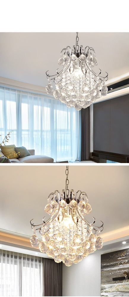 Modern Crystal Chandelier - Urban Factorie