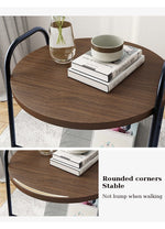 Creative Nordic Metal Round Coffee Table - Urban Factorie