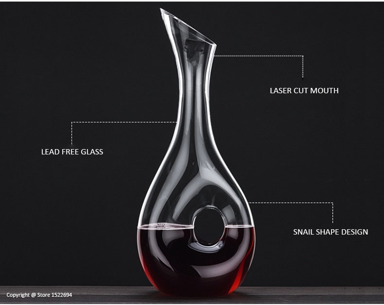 Snail Style Decanter - Urban Factorie
