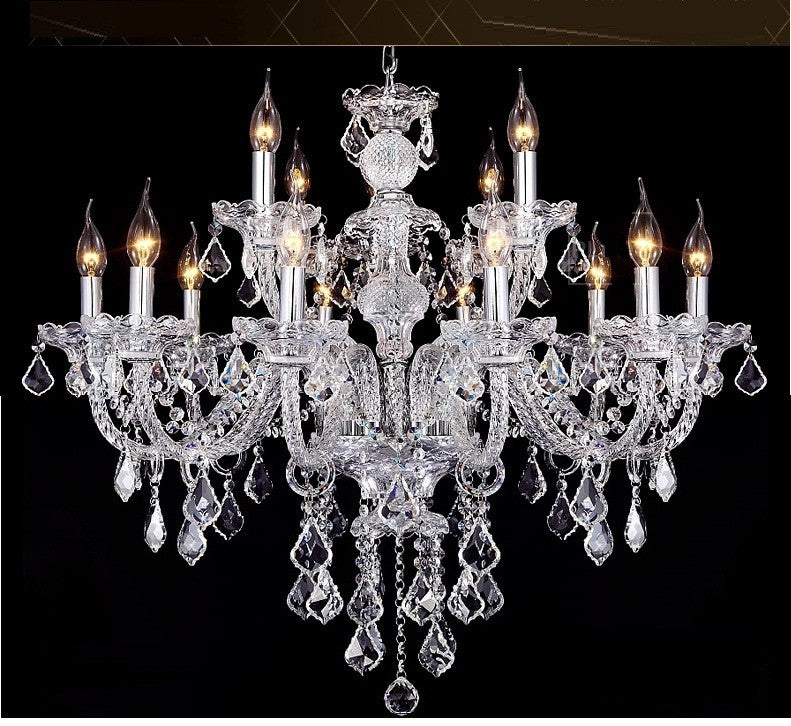 Lavish Crystal Chandelier