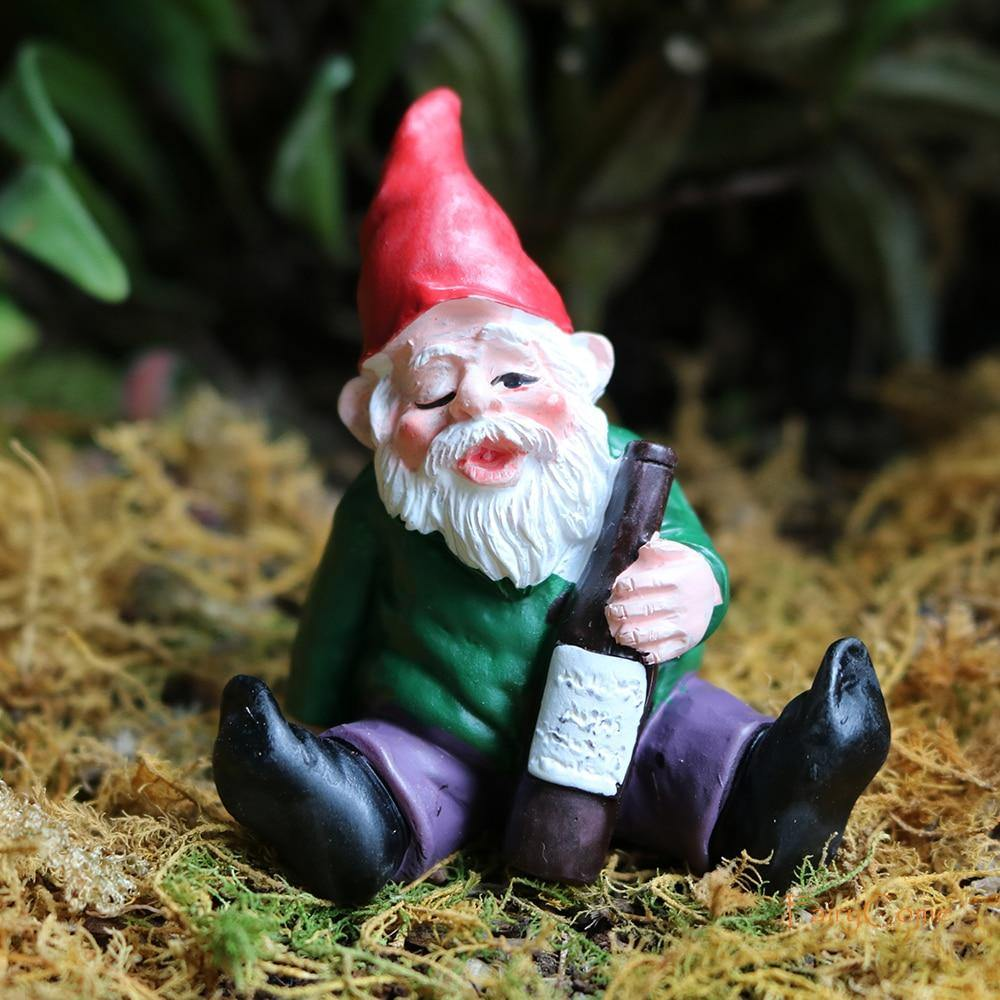 Miniature Gnome sculptures
