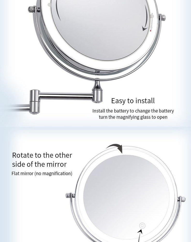 Makeup Wall mirror
