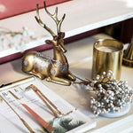 Deer Figurine Statue European Style - Urban Factorie