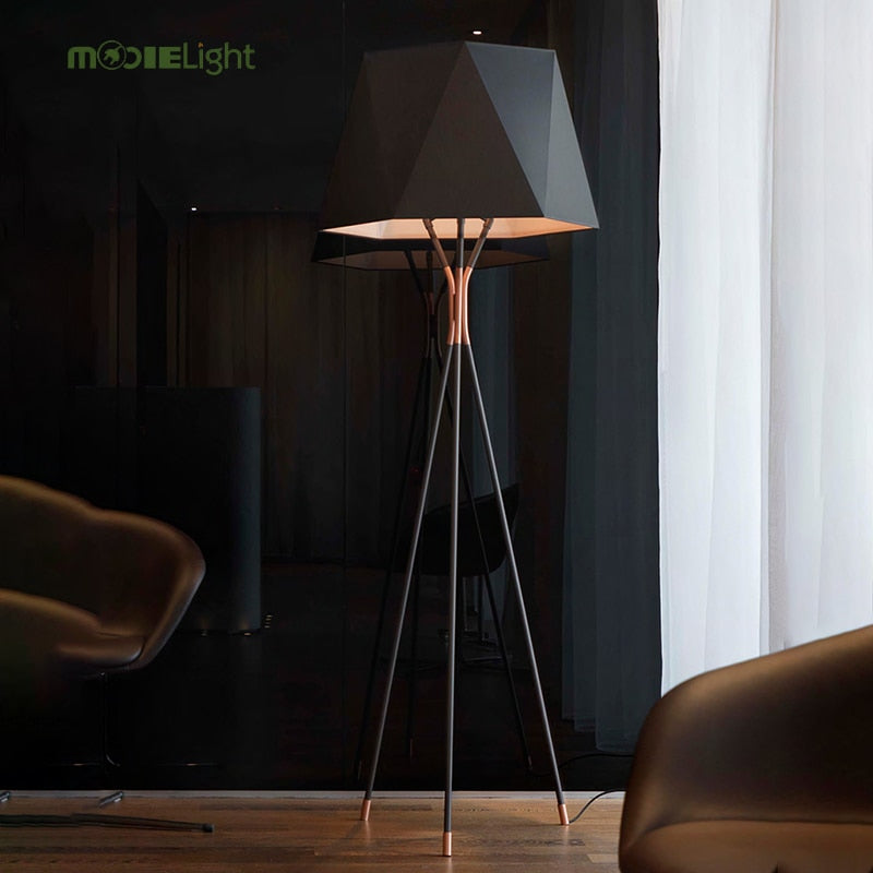 Modern Glass Ball LED Floor Lamp