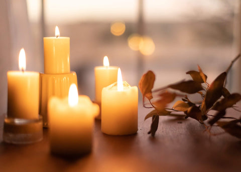 candles for sensory experience