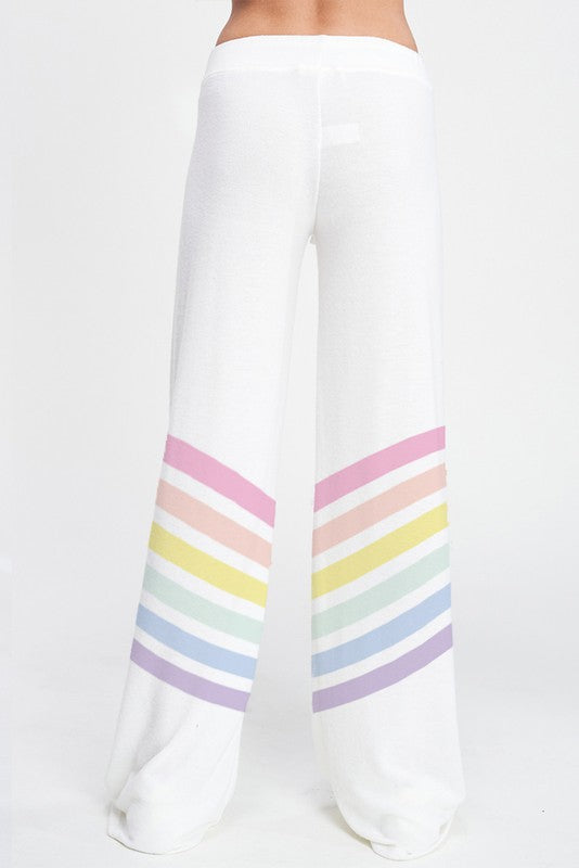 Rainbow Heart Sleep Loungewear Bottoms