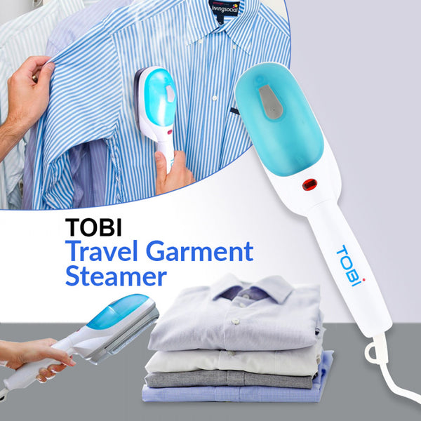 Tobi Travel Steamer Portable Garment Steam Iron