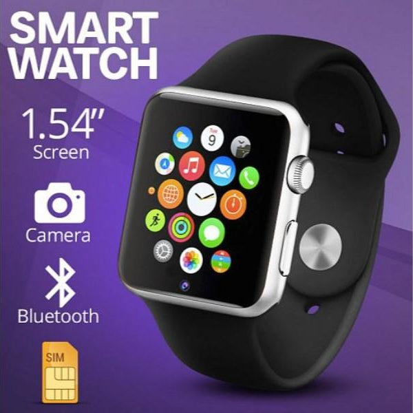 A1 Smart Watch Sim & Camera Bluetooth