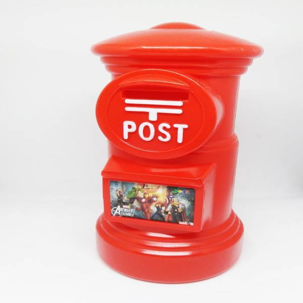 Kids Post Office Box Coin Bank Saving For Kids