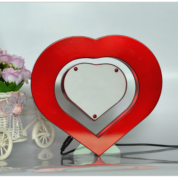 Floating Heart Shaped Photoframe