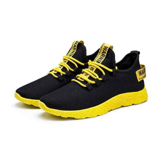 PS-Zapatos Yellow Hombre Casual Sports Sneakers
