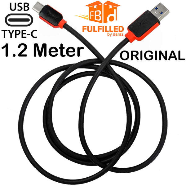 ORIGINAL Warner 1.2 Meter Type C USB 3.0 Fast Charging + Data Cable