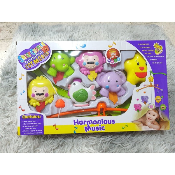 toys hanging box baby rattle baby