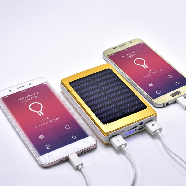 4 IN 1 BIG POWER BANK 90,000MAH POWER BANK + FLASH LIGHT + SOLAR PANEL + CURRENCY CHECKER
