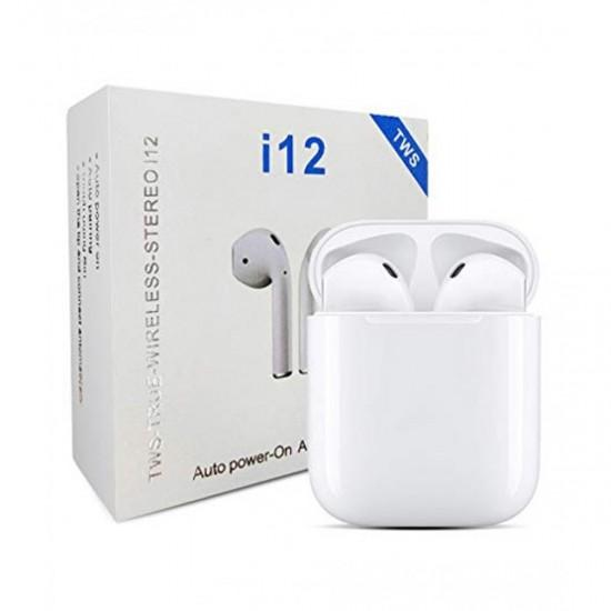 TWS i12 With sensors touch Wireless Earphone V5.0