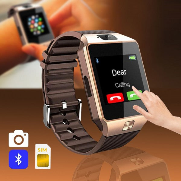 Mobile Smart Watch Sim & Camera