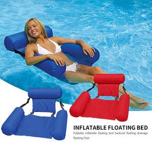 Inflatable Floating Swimming Bed