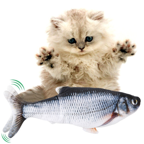 Rechargeable 3D Fish Toy for Pets