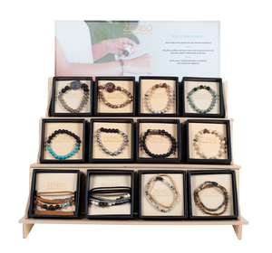 *Zengo Aromatherapy Bracelets Only Display Pre-pack - 24 pieces