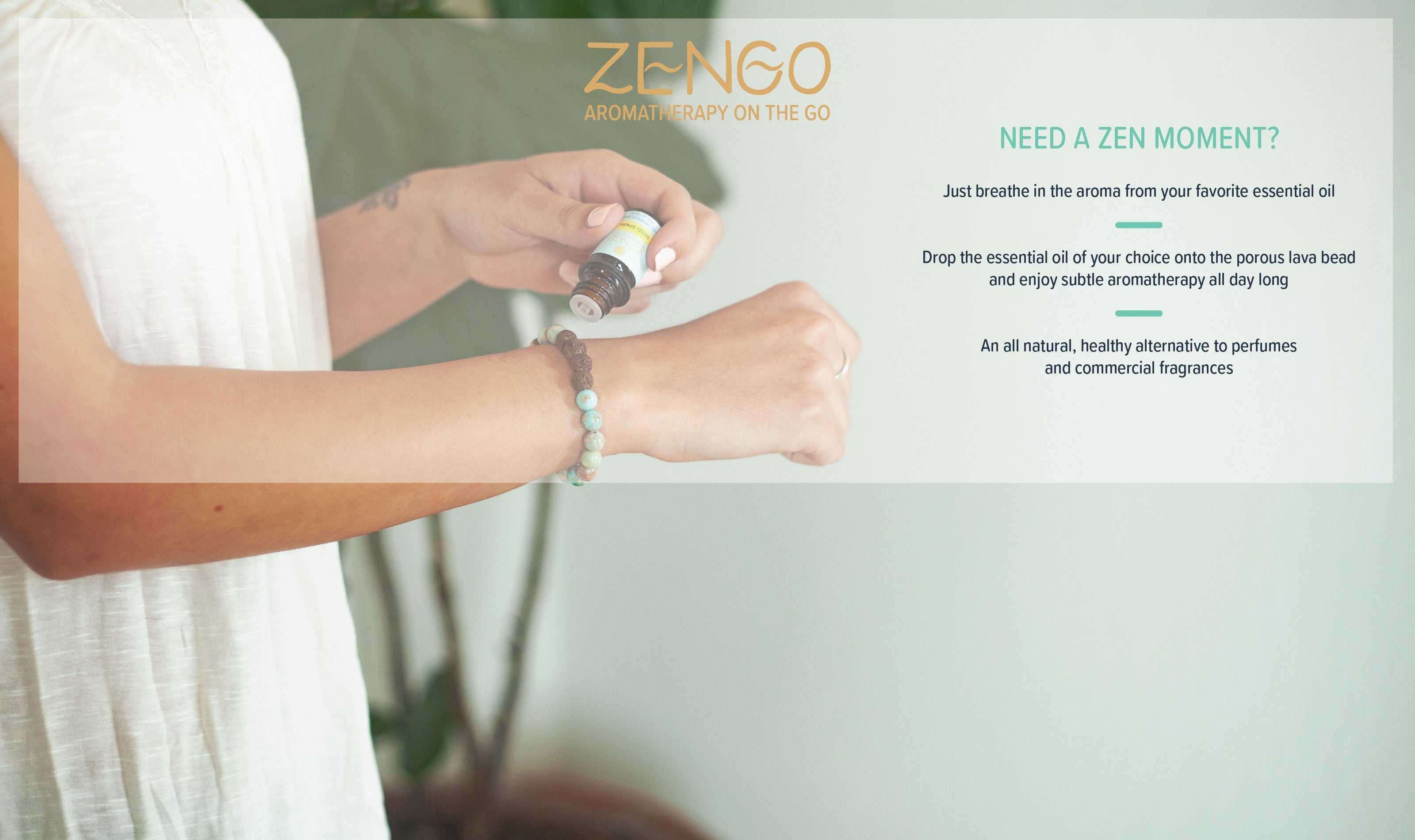 *ZenGo Bracelet Header - ONLY