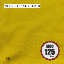 20 CVC Pique Honeycomb Cotton Fabric