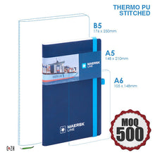 A5 PU Leather notebook customizable Corporate Gifts Philippines