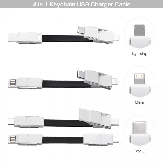 BND835 Osaka 4in1 Mobile Charging Cable Set