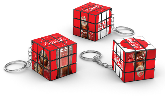 Coca Cola Rubiks 3x3 Rubik's cube Supplier Custom Rubik's cube Supplier Philippines Corporate Gifts Corporate Giveaways Rubik's Merchandise