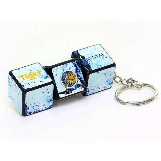 Corporate Gift Ideas Rubik's Block Keychain Perfect Merchandise and Corporate Gifts Order Custom Rubik's now