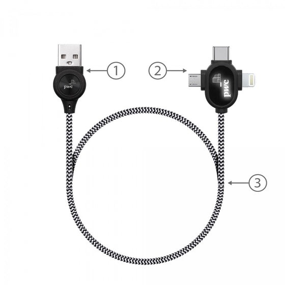 BND218 Lipanoi Mobile Charging and Data Cable Set