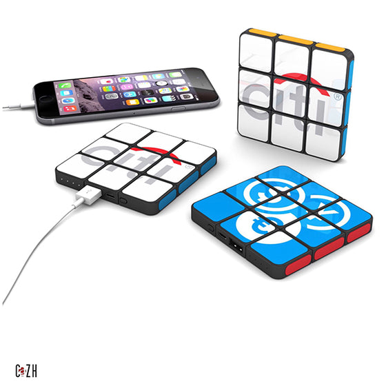 Custom Rubik's Flat Power bank 4000mAh Corporate Gifts Ideas